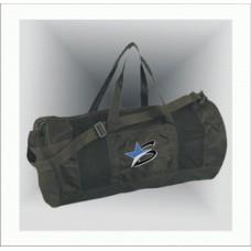 Спортивная сумка черная с лямками
