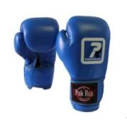 Боксерские перчатки синие PR-12482
