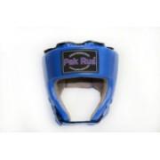 Шлем боевой для бокса синий PR-1279-3
