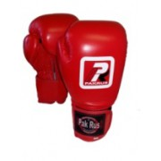 Перчатки боксерские тренировочные красные PR-12472